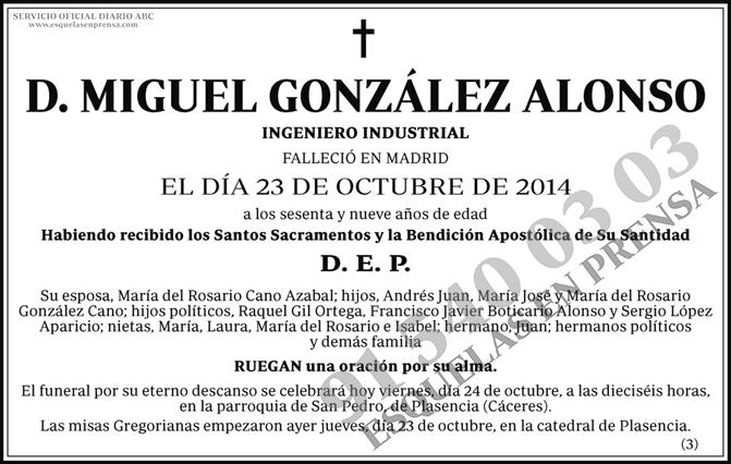 Miguel González Alonso